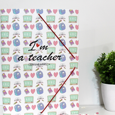 "Carpeta ""I'm a teacher"""