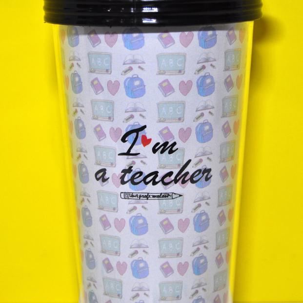 "Vaso ""I'm a teacher"""